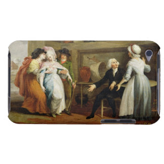 'Dining in the Hayfields' (surprised by Mr Thornhi iPod Case-Mate Cases