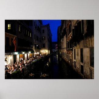 Dining in Venice Print