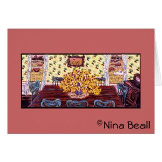 """Dining Room at the Farm,"" by Nina Beall Card"