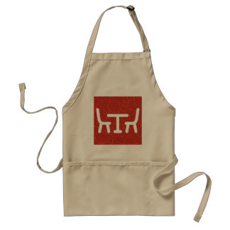 Dining Rooms Icon Adult Apron