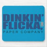 Dinkin' Flicka Mouse Pad