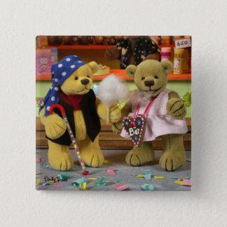 Dinky Bears Fairground Fun 15 Cm Square Badge