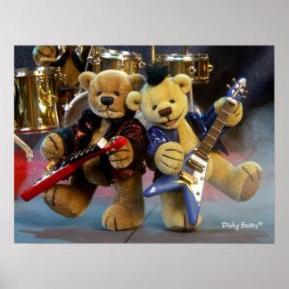 Dinky Bears: Guitar Duet Poster