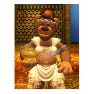Dinky Bears Little Genie Postcard
