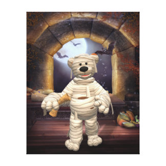 Dinky Bears: Little Mummy Gallery Wrapped Canvas