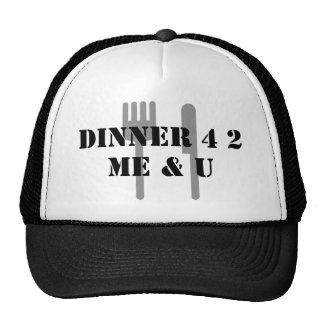 DINNER 4 2 MESH HATS
