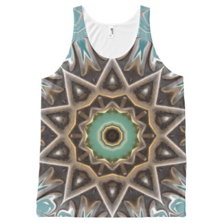 Dinner At Eight. All-Over Print Tank Top