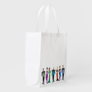 Dinner Guests Reusable Grocery Bag