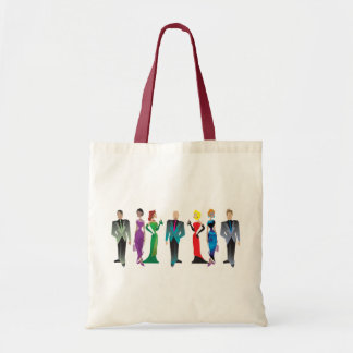 Dinner Guests Totes Budget Tote Bag