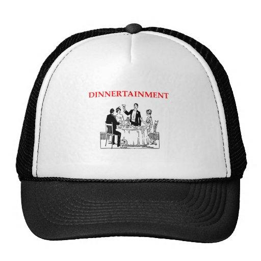 dinner mesh hat