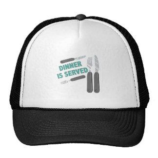 Dinner Is Served Cap