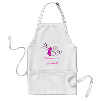 Dinner is Served - Phat Kok Clothing Co. Adult Apron