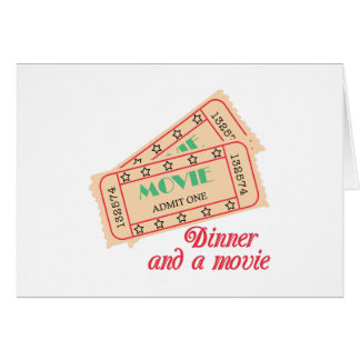 Dinner & Movie Card