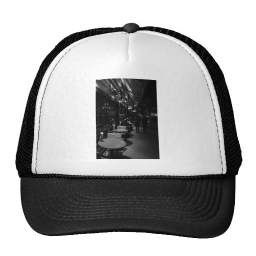Dinner on the streets of San Francisco Hat
