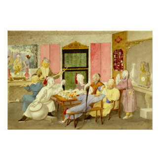Dinner Party 1860 Poster