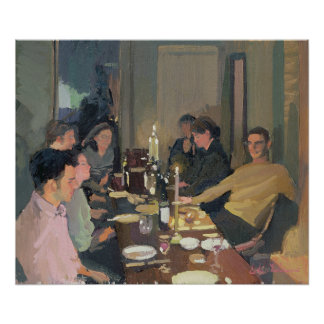 Dinner Party Poster