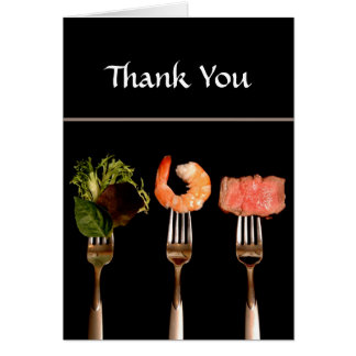 Dinner Party Thank You Card