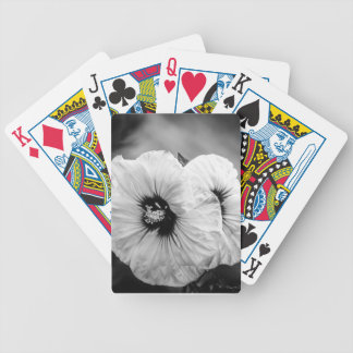 Dinner Plate Hibiscus Poker Deck