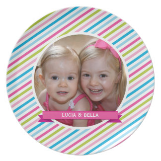 DINNER PLATE :: personalized photo