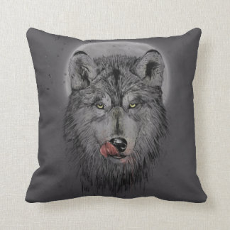 Dinner time (dark version) cushion