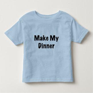 Dinner Toddler T-Shirt