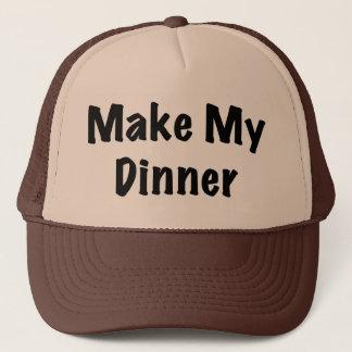 Dinner Trucker Hat