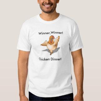 dinner, Winner,Winner!, Chicken Dinner! Tee Shirt