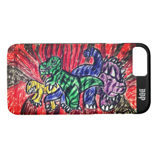 Dino art iPhone 8/7 case