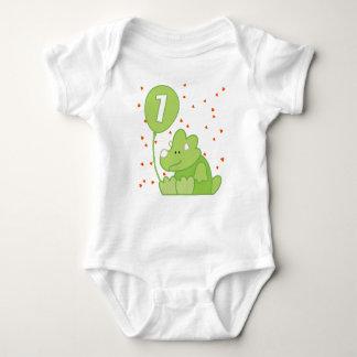 Dino Baby 1st Birthday Baby Bodysuit
