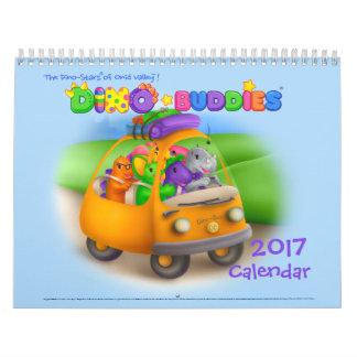 Dino-Buddies™ 2017 Calendar – Road Trip wPap™
