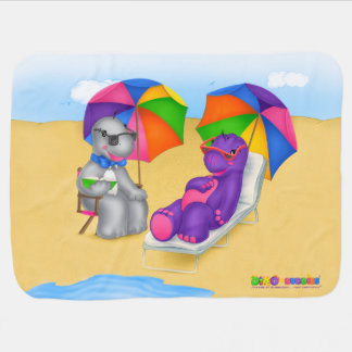 Dino-Buddies® Baby Blanket Fun In The Sun!