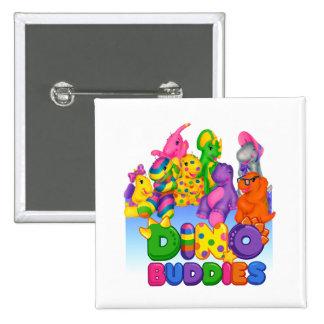 Dino-Buddies™ Button – Sunset Scene