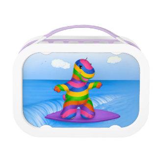 Dino-Buddies™ Lunch Box - Bo™ w/Surfboard