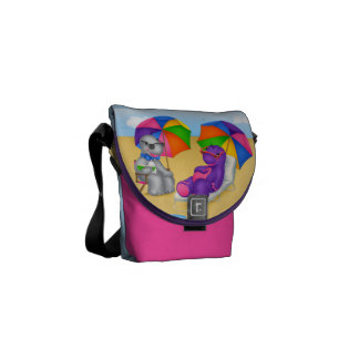 Dino-Buddies™ Mini Messenger Bag – Beach Time