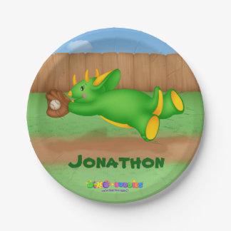 Dino-Buddies™ Plates - Baseball Catch!