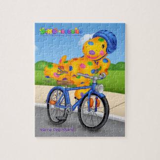 Dino-Buddies® Puzzle – Rollo™ Riding Bike