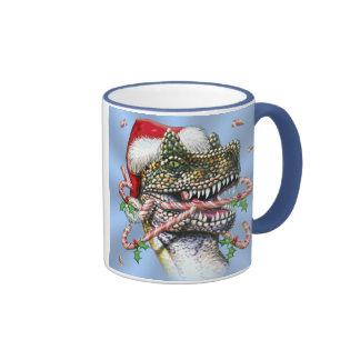 Dino Christmas Mug