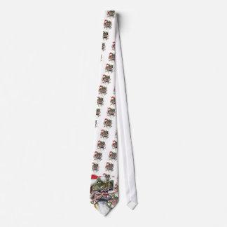 Dino Christmas Tie