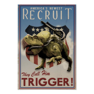 Dino D-Day: Trigger Posters