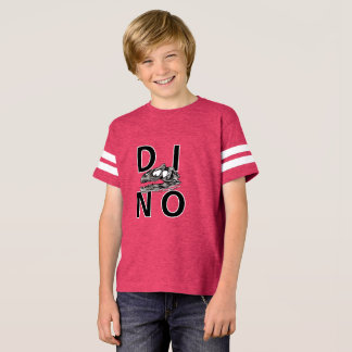 DINO - Hot Pink Kids' Football Shirt