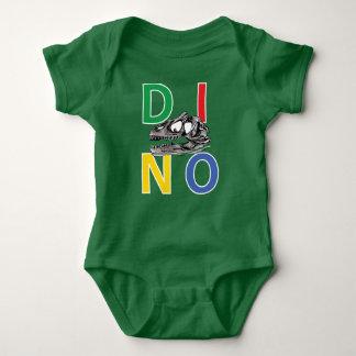 DINO - Kelly Green Baby Jersey Bodysuit