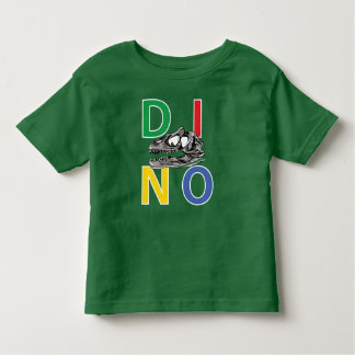 DINO - Kelly Green Toddler Fine Jersey T-Shirt