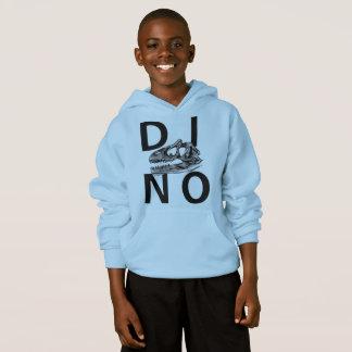 DINO - Light Blue Kids' Hanes ComfortBlend® Hoodie
