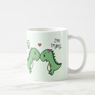 Dino Love Mug! [In Green] Coffee Mug