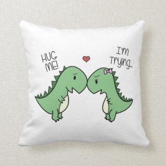 Dino Love Pillow! Cushion
