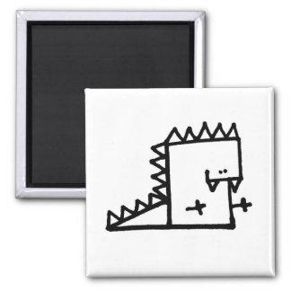 Dino Meepple Magnet