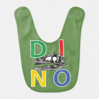 DINO - Moss Green Baby Bib