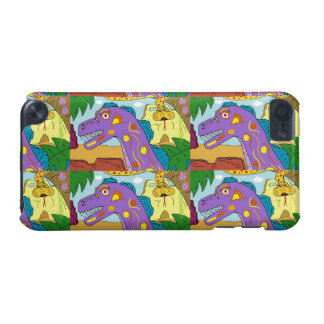 """DINO n SNAKE """"YOU WANT WHAT?"""" iPod Touch 5g Case"""