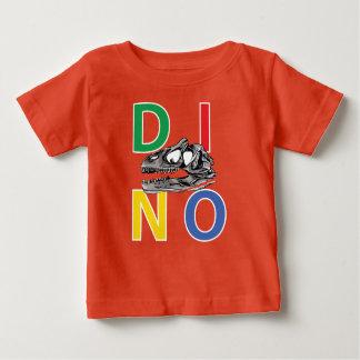 DINO - Orange Baby Fine Jersey T-Shirt