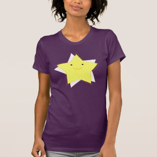 Dino Pictures Twinkle T-Shirt- Womens - Aubergine T-Shirt